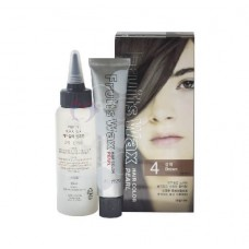 Welcos Fruits Wax Hair Color 4 Brown