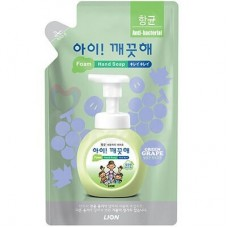 Liquid soap for hands Cj Lion, with a scent of grapes, a spare part 200 ml