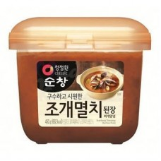 Soybean paste with the addition of shellfish and anchovies 450 gr.