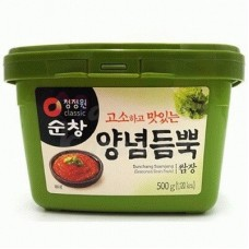 Soybean paste with spices, 500 gr