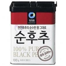 Ground black pepper, 100 gr