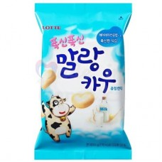 Chewing candy with milk flavor, 63 g