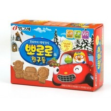 Biscuit snacks with cocoa flavor, 65 gr