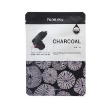 FarmStay Visible Difference Mask Sheet Charcoal 23 ml